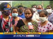 Hindustan Shipyard Incident   Victim Families Protest @Hindustan Shipyard   for Employment Assurance  (Video)