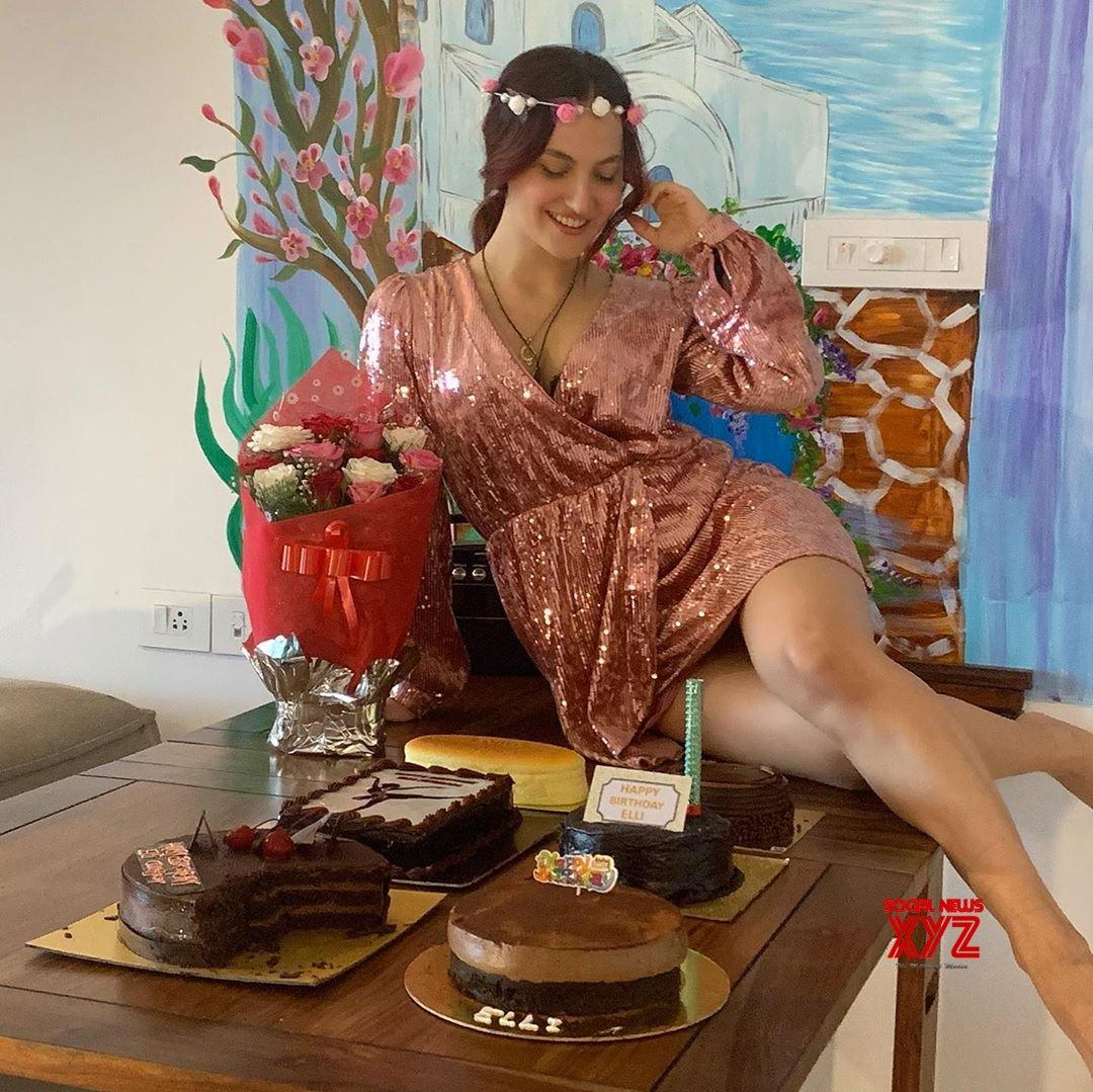 Actress Elli AvrRam Latest Stills