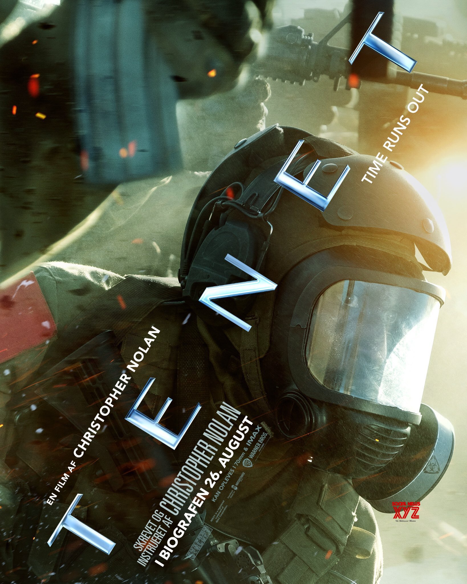 Christopher Nolan's TENET Movie Latest Posters