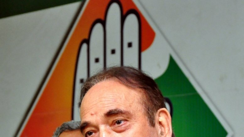 We are reformists, not rebels, says Ghulam Nabi Azad