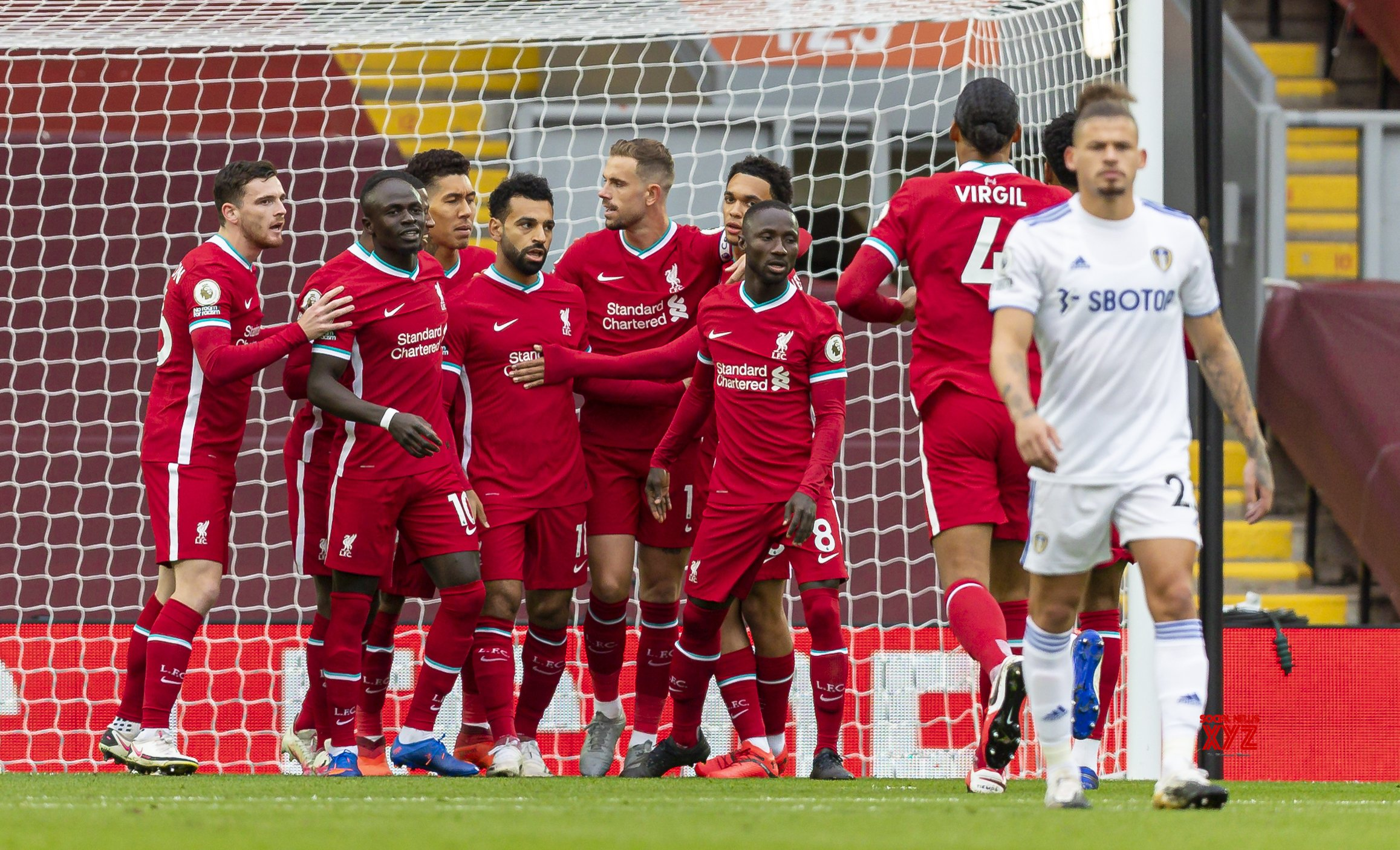 BRITAIN - LIVERPOOL - FOOTBALL - ENGLISH PREMIER LEAGUE - LIVERPOOL VS LEEDS UNITED #Gallery