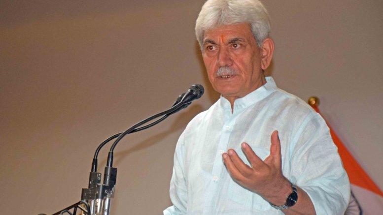 L-G Sinha announces Rs 1,350 cr package to bolster biz, jobs in J&K