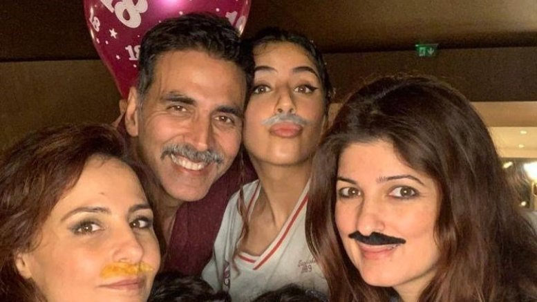 Twinkle Khanna wishes her son Aarav on his 18th birthday