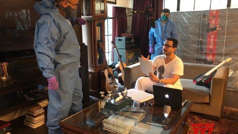 Saif Ali Khan starts dubbing for web show 'Tandav'