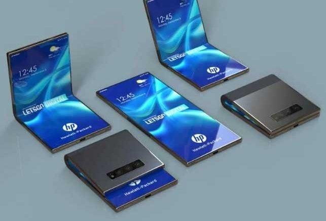 HP patents clamshell foldable phone like Galaxy Z Flip