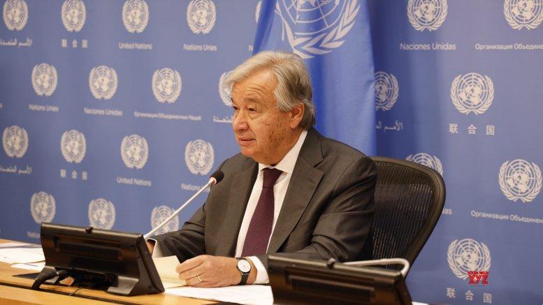 Guterres calls for 'positive' move on Kashmir, sidesteps 'demography' question