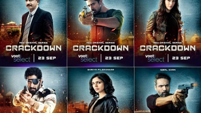 Meet The Cast Of 'Crackdown' From Voot Select