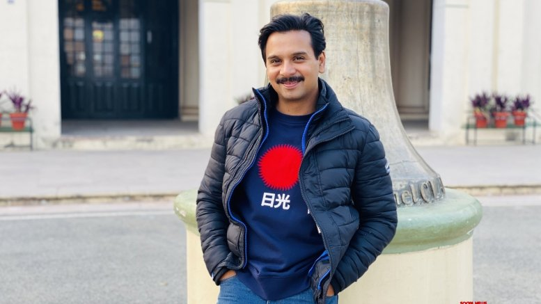 Actor Namit Das makes debut as screenwriter