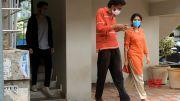 Sai Pallavi and Naga Chaitanya Visuals @ Love Story Movie Shooting Spot (Video)