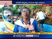 Fishermen Stuck in Sea at Pallepalem | Some Rescued and Others Yet to be Put at Safer Place  (Video)