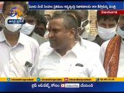 Minister Vellampalli Srinivas Inspects Kanaka Durga Temple Chariot  (Video)