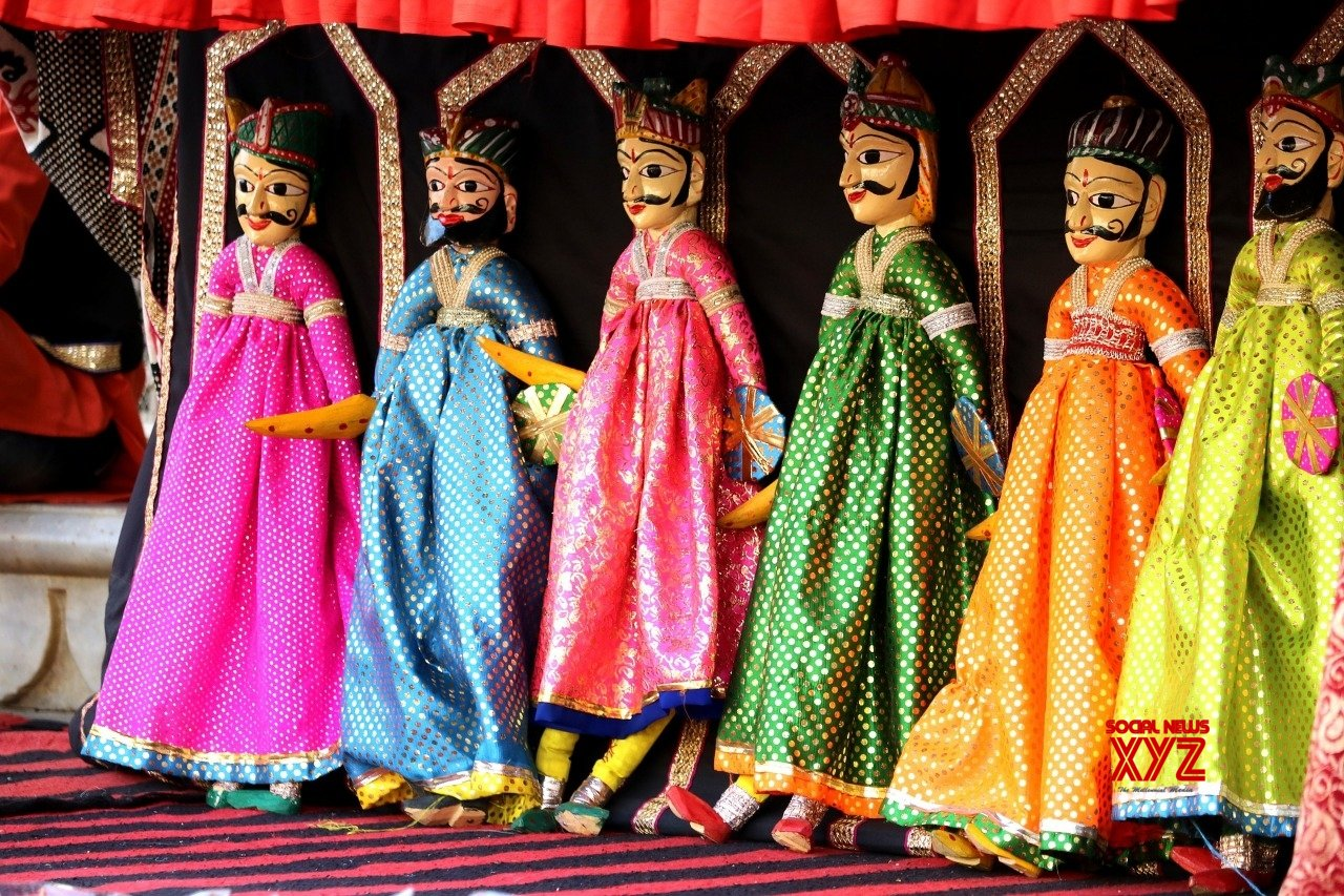 Ramlila with wooden puppets in Varanasi this year