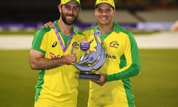 Maxwell, Carey power Australia to ODI series-win over England