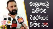Minister Kodali Nani Serious Comments On Chandrababu Naidu (Video)