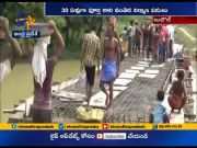 Villagers construct bridge with donations in Bihar's Budhaul village  (Video)