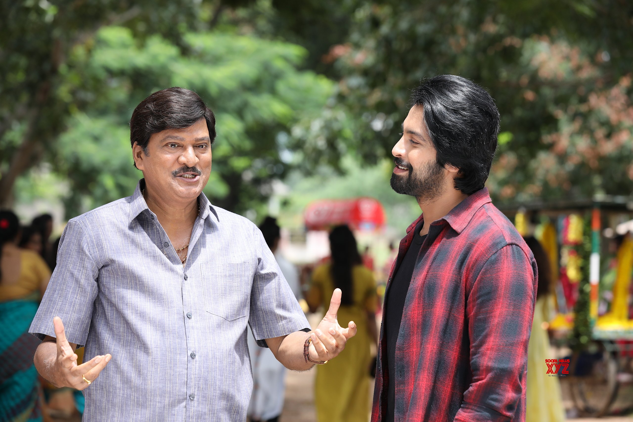 A Song For Super Machi Movie Was Shot In Hyderabad On Kalyan Dev And Rajendra Prasad