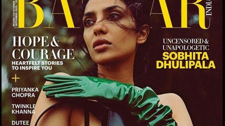 Sobhita Dhulipala Turns Harper's Bazaar Cover Girl - Social News XYZ