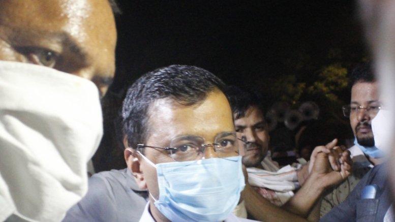 Kejriwal joins protesters seeks justice for Hathras victim