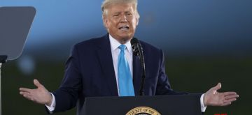 Washington, Oct. 2, 2020 (Xinhua) -- File photo taken on Sept. 3, 2020 shows U.S. President Donald Trump participating in a campaign rally in Latrobe, Pennsylvania, the United States. Trump said early Friday morning that he and his wife, Melania, have tested positive for COVID-19, after a close aide had contracted the virus. (Xinhua/Liu Jie/IANS)