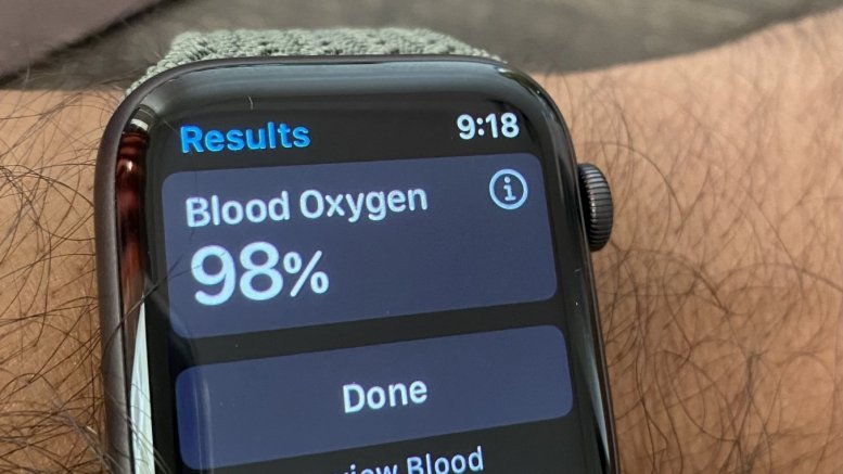 Apple Watch Series 6 oximeter 'reliable' for lung disease patients: Study