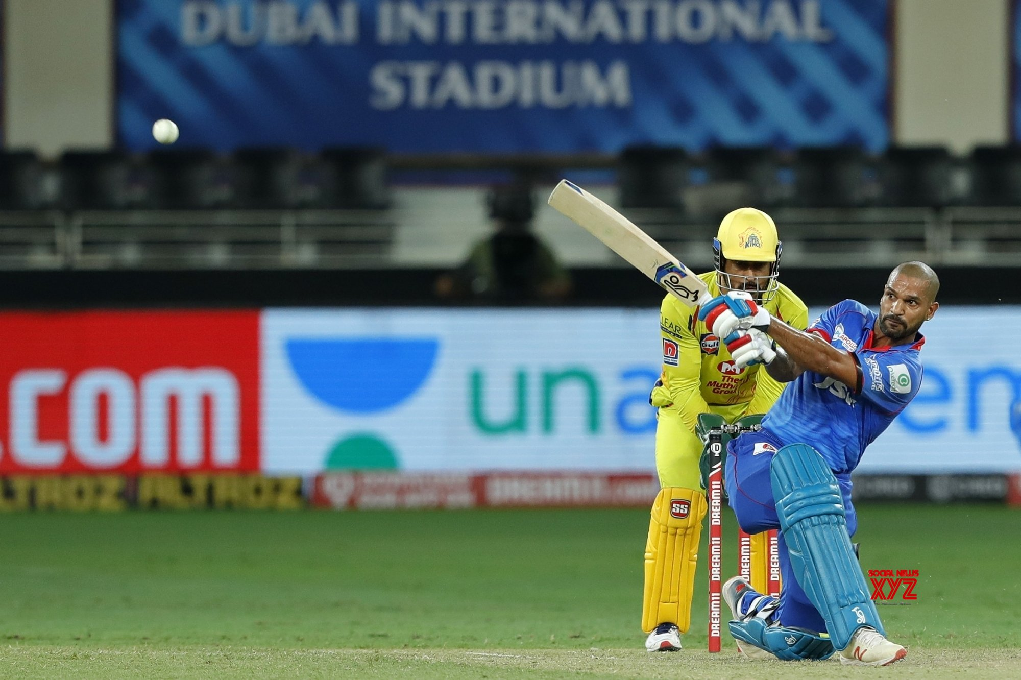 Dhawan's maiden ton takes DC to five-wicket win over CSK