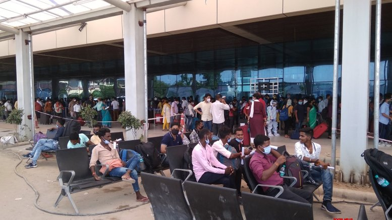 Chopper wing collides with wire at Patna airport, passengers safe