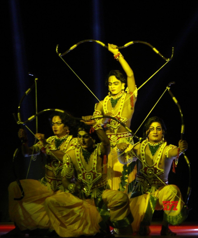 New Delhi: Artistes perform during Ramlila at Shriram Bharatiya Kala Kendra #Gallery