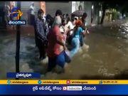 Flood On Roads | in Hyderabad  (Video)