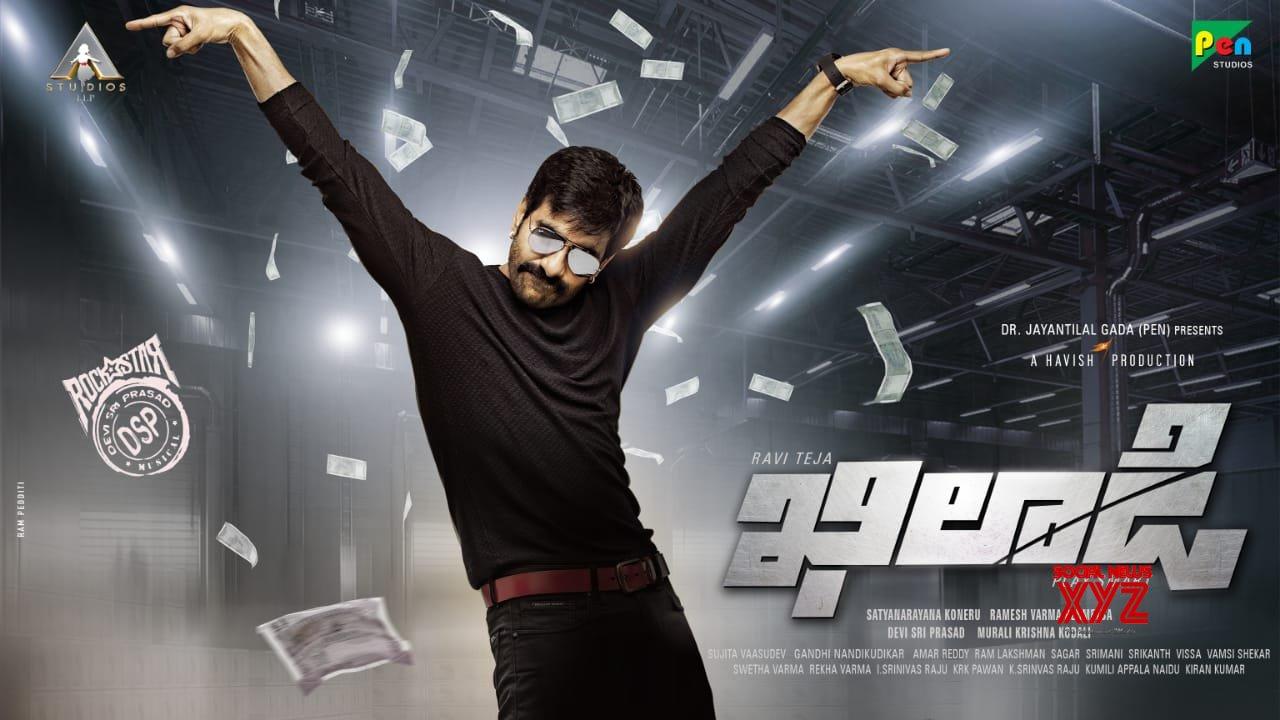 Raviteja 67th Film In Ravi Varma Direction Titled Khiladi First Look Posters