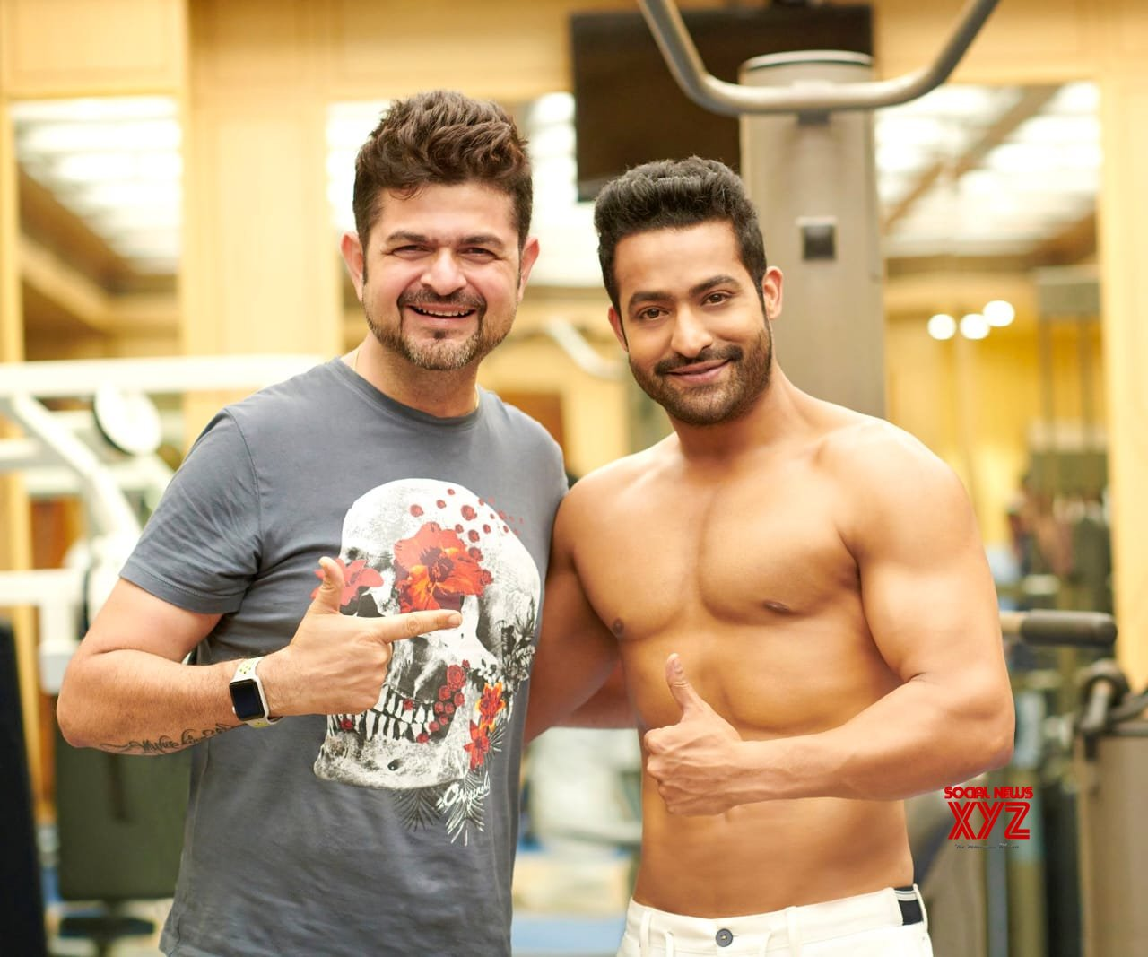 Young Tiger NTR Still With Dabboo Ratnani During His Photo Shoot