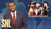 Weekend Update: Top Halloween Costumes & Grocery Store Racism - SNL #SNL HD (Video)