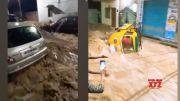 Heavy Rains In Hyderabad | Hyderabad Present Situation Visuals | Manastars  (Video)