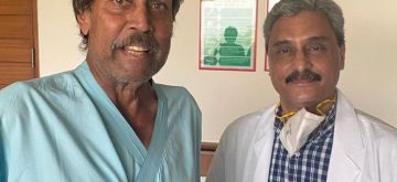 Kapil Dev discharged from hospital after recovery from heart surgery.