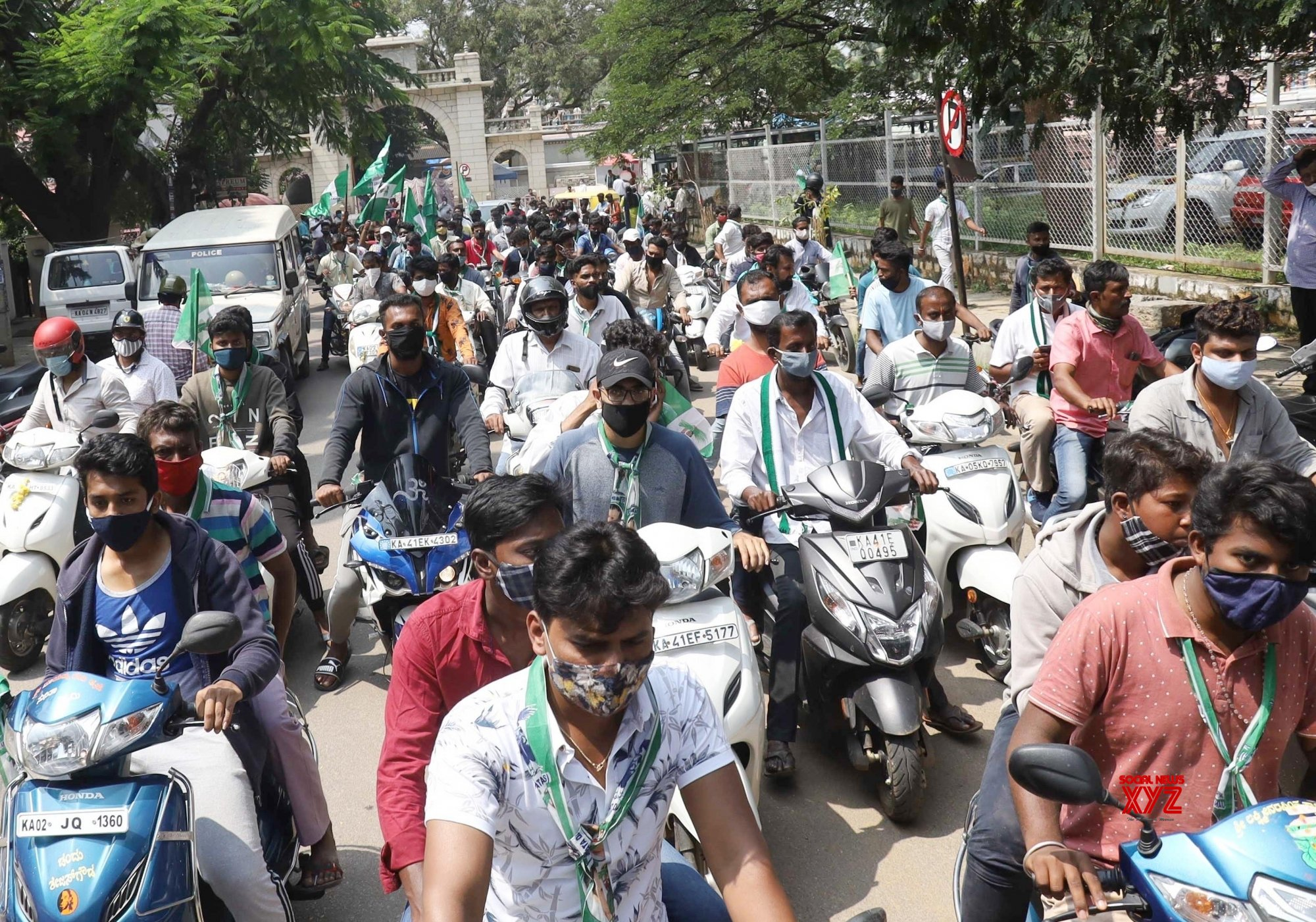 Bengaluru: JD - S leaders campaign for Rajarajeshwari Nagar by - poll #Gallery