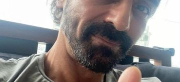 Arjun Rampal tests Covid negative, to re-test in 4 days .