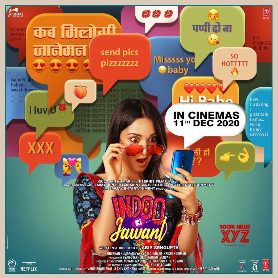 Kiara Advani Drops A New Poster Of Indoo Ki Jawani - Social News XYZ