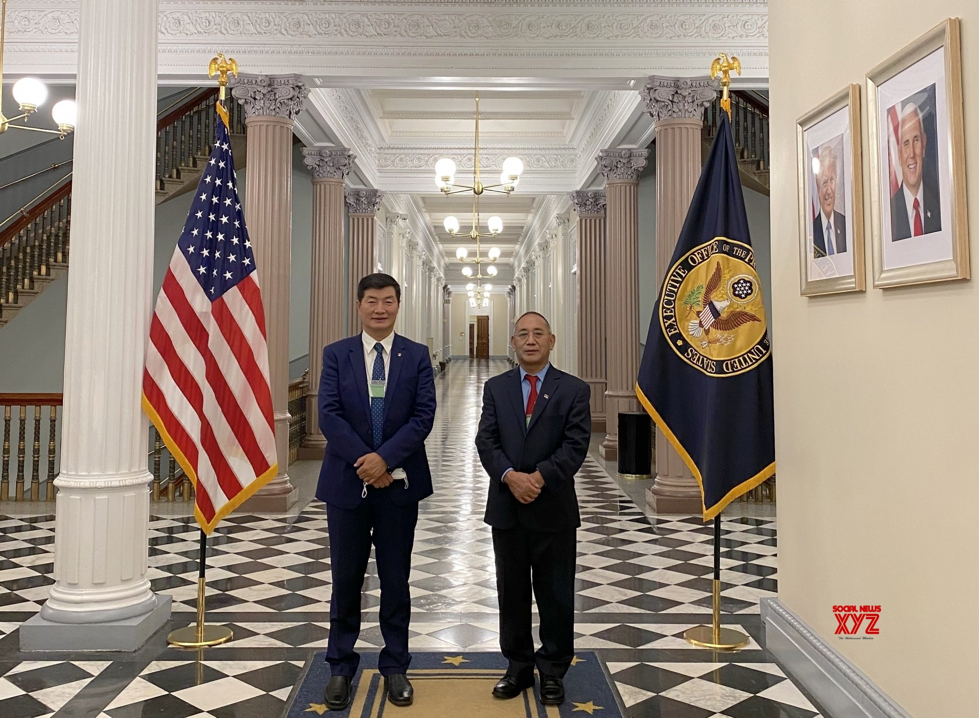 Dharamsala: First time in six decades, Sangay invited to White House. #Gallery