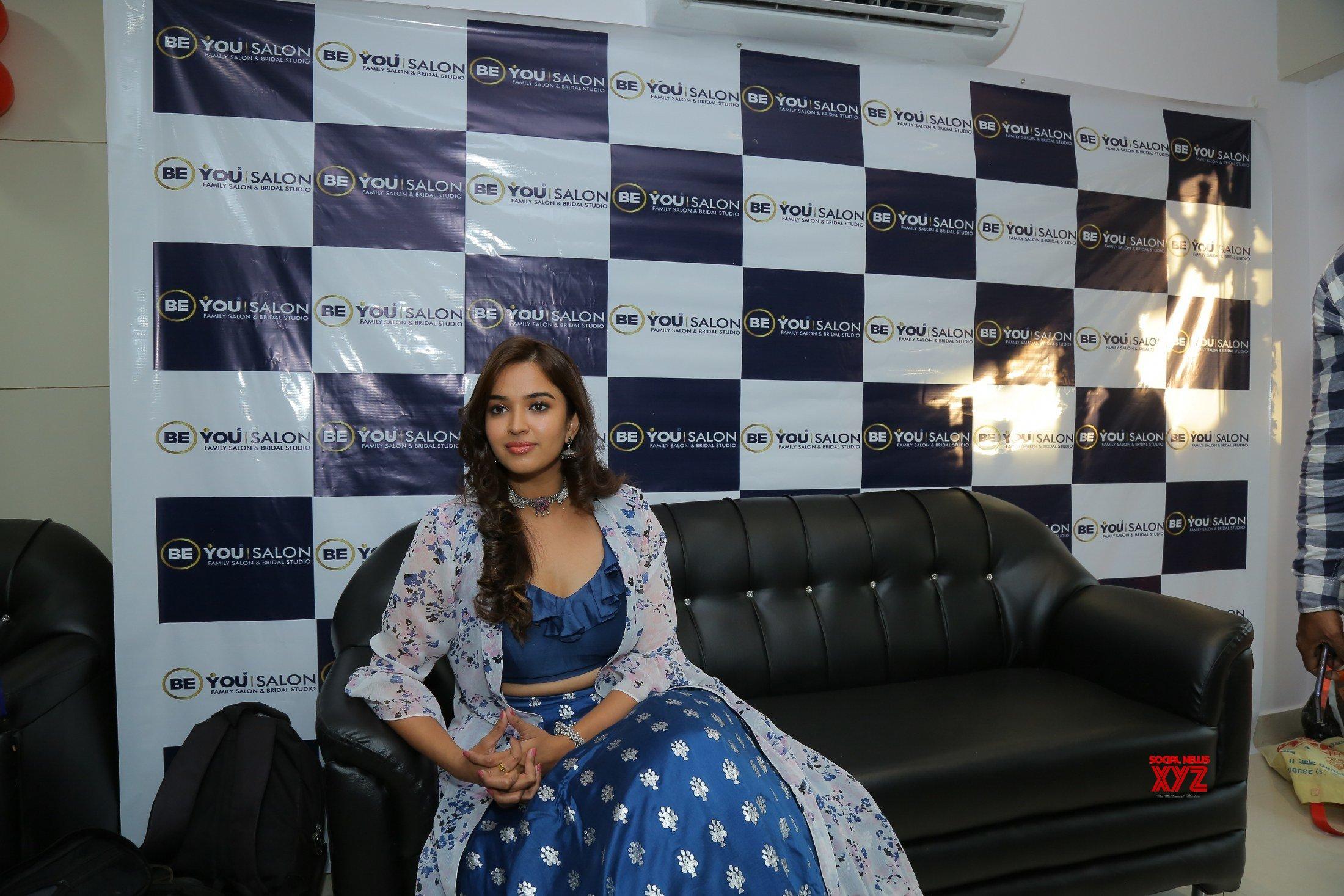 Actress Pujitha Ponnada Inaugurates BeYou Salon At Bhimavaram - Gallery