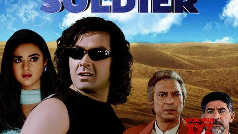 Preity Zinta and Bobby Deol starrer 'Soldier' completes 22 years; Preity calls it as 'super hot and cool movie'