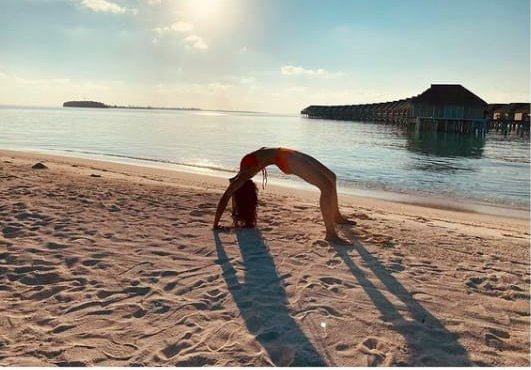Rakul Preet Singh Is Enjoying Her Vacay In Maldives