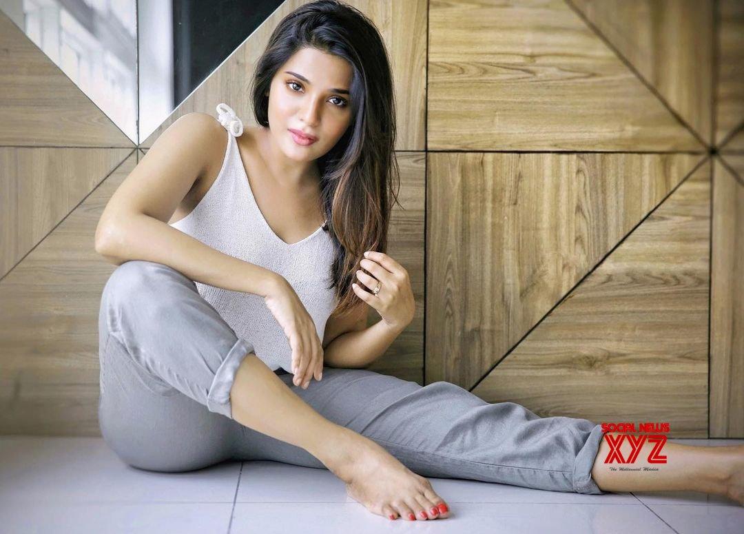 Actress Aathmika Latest Glamour Stills