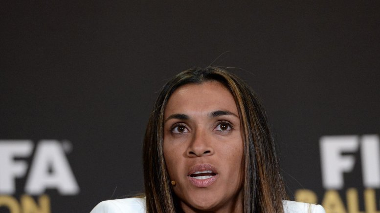 Brazilian football star Marta tests positive for Covid-19