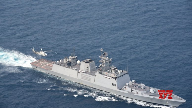 Trilateral maritime exercise SITMEX-20 on in Andaman Sea