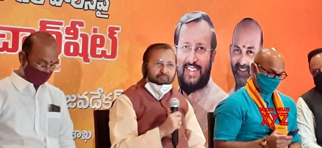 Hyd municipal polls: Javadekar gives boost to BJP campaign