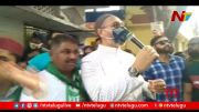 NTV: MIM Chief Asaduddin Owaisi Holds Padayatra at Erragadda (Video)