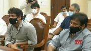 Chiranjeevi & Nagarjuna Meeting Visuals With CM KCR | Manastars  (Video)