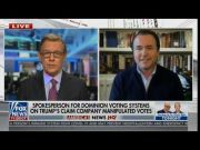 Dominion Voting Systems Outside Spokesman Refutes Fraud Claims in 2020 Election on FOX News [HD] (Video)
