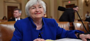 WASHINGTON, Nov. 29, 2017 (Xinhua) -- U.S. Federal Reserve Chair Janet Yellen testifies before the U.S. Congress Joint Economic Committee on Capitol Hill in Washington D.C., the United States, Nov. 29, 2017. Janet Yellen said on Wednesday that it is appropriate for the central bank to continue gradual interest rate hikes on the expectation that the economy and job market would remain strong. (Xinhua/Yin Bogu/IANS)