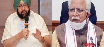 Punjab CM slams Khattar over 'Khalistani' remark.