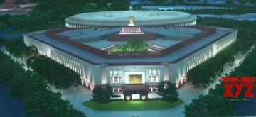 Central Vista project parliament building.